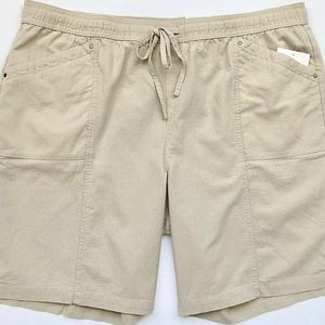 Croft & Barrow Authentic Pull On Elastic Shorts 2X